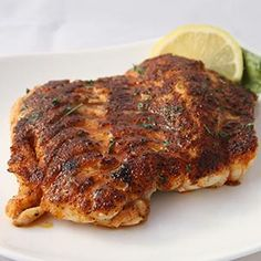 Classic Blackened Grouper Dinner recipe by Crabby's Dockside Restaurant. Yummy Recipes, Dinner Recipes, Cooking Recipes, Yummy Food, Tasty, Blackened Grouper Recipe, Grouper Recipes, Clearwater Florida, Tampa Bay