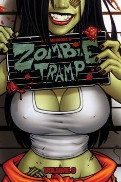 Zombie Tramp, Volume 9 : Skanks, Shanks and Shackles Zombie Pin Up, Zombie Cartoon, Cartoon Art, Zombie Drawings, Cool Car Drawings, Arte Zombie, Zombie Art, Fighting Demons, Heavy Metal Art
