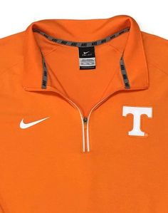 Nike Tennessee Volunteers Dri Fit Shirt XXL 2XL 1/4 Zip Pullover Polo Athletic  | eBay
