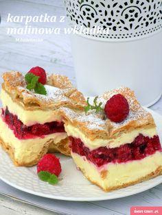 Polish Desserts, Polish Recipes, Polish Food, Dessert Drinks, Dessert Recipes, Healthy Potato Recipes, Mini Cheesecake Recipes, Summer Cakes, Sweets Cake