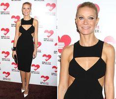 Gwyneth Paltrow, más guapa que nunca, en la Gala Corazón de Oro de Nueva York #actress #famosas #celebrities #people #actrices