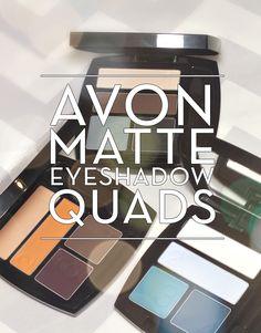 Avon True Colour Matte Eyeshadow Quads www.youravon/croberts2382