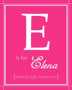 Baby Nursery Name Art Girl 8x10 Personalized by BabyBunsDesigns