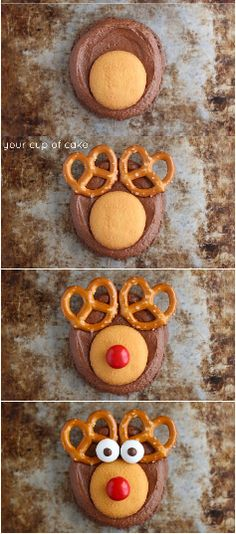 how to make a simple and lovely christmas dessert