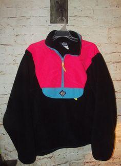 Vtg 80s WOOLRICH Neon Sigmet Gear Mens LARGE Color Block Jacket ski  Windbreaker 3a8048a3f