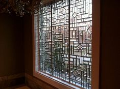 Custom Made to Order All Beveled Stained Glass Windows on Etsy, $1,120.00