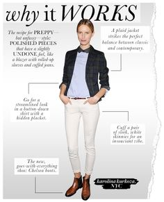 luh-huv everything about this.    Why It Works: Karolina Kurkova - Celebrity Style and Fashion from WhoWhatWear