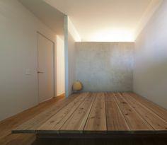 足場板で作った素朴なベッド | 第4回家づくり大賞