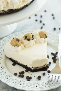 No Bake Cookie Dough Cheesecake Recipe