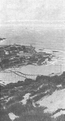 Tamarama Beach and Switch-back Railway in its 1887 position before it was moved back. Aquarium Photos, Bondi Beach, Historical Pictures, Amusement Park, South Wales, The Rock, Old Photos, Sydney, Past