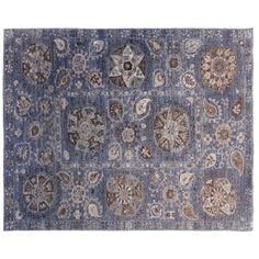 """Check out this item at One Kings Lane! 7'10""""x9'11"""" Mila Rug, Light Blue 8x11 $4050"""
