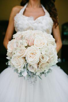 Heavenly Blooms: Calamigos Ranch Malibu Wedding - Christmas in July