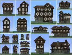Medieval Building Pack 19 Buildings Minecraft Project Minecraft projects Minecraft blueprints Minecraft medieval
