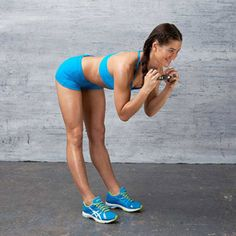 The Good Morning #exercise works your abs, butt and hamstrings.
