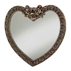 White Heart Shaped Mirror 97 X 91cm Heart Mirror And