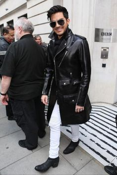 that coat looks absolutely unreal on him i just want to die now @adamlambert