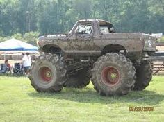 cool mud trucks