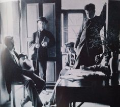 Rainer Maria Rilke with Lou Andrea Salomé (right) and friends