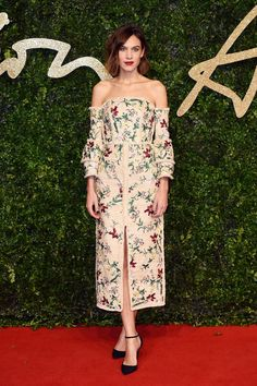 Image result for alexa chung red carpet