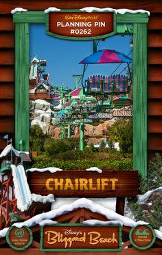 Walt Disney World Planning Pins: Chairlift
