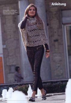 Crochet ponchos etc