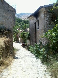 Old Perithia, Corfu, Greece