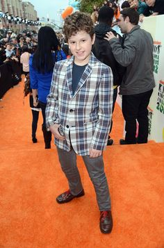 Nolan Gould at the 2012 Nickelodeon Kids' Choice Awards in Los Angeles, California.