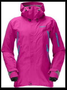 Norrøna jakke dame Gore Tex, Outdoor Gear, Motorcycle Jacket, Skiing, Hooded Jacket, Jackets For Women, My Style, Coat, Outfits