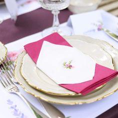 Servetstickers | Bloemenweelde #tuinfeest #retirement #garden #party #pensioenfeest #napkins #stickers #flowers #Beaublue