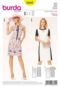 Burda Printemps Ete 2016 Patron de robe - Burda 6642 - Rascol