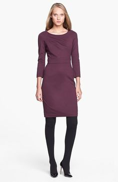 Trina Turk 'Fenella' Ponte Sheath Dress available at #Nordstrom