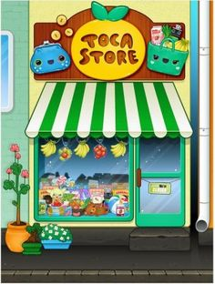 Toca Store- Kids love this! Perfect for your little entrepreneur. (Works on: iPhone, iPod Touch and iPad)