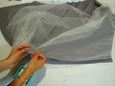 good info for sewing lace and tulle! I wish I had this when I did veils for weddings!.