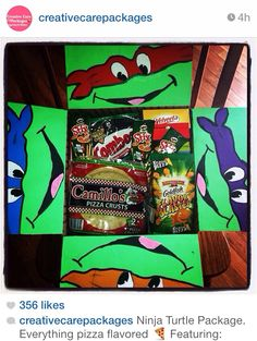 TMNT- everything pizza flavored! #NeverExpected Gift