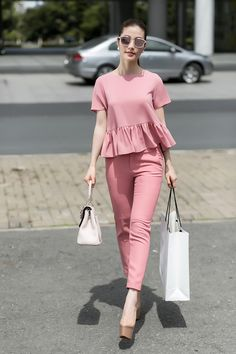 Women's Rights Facts Cute Casual Outfits, Casual Chic, Stylish Outfits, Casual Wear, Trendy Fashion, Korean Fashion, Girl Fashion, Fashion Dresses, Womens Fashion
