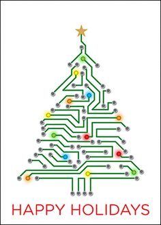 Make lasting connections this holiday season with personalized electrical engineering Christmas cards.
