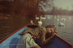 mathilda and the swans by martabevacquaphotography. @go4fotos