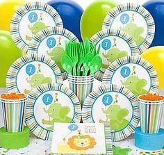 Baby Animals 1st Birthday Boy