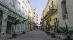 HAVANA, CUBA #travel #destination Alleyway, Cuba Travel, Havana Cuba, Restoration, The Past, Street, City, Places, Modern