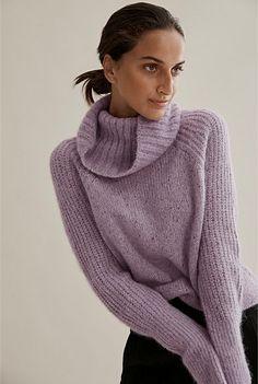 Luxe Alpaca Nep Sweater Thick Sweaters, Shoe Size Conversion, Baby Alpaca, Online Purchase, Winter Wardrobe, Body Measurements, Merino Wool, Knitwear, Winter Fashion