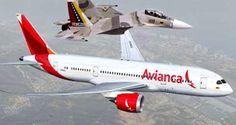 """Un avión de la aerolínea colombiana Avianca que viajaba de Madrid a Bogotá y pasó por espacio aéreo venezolano habría sido """"obligada a desviarse"""" luego que"""