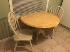 Kitchen table and 2 chairs - $100