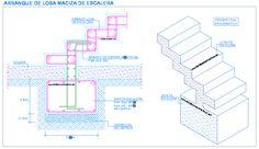 ... de escaleras zapatas fundaciones gradas losa de cimentacion losa de