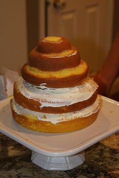 beehive cake without buying a special pan