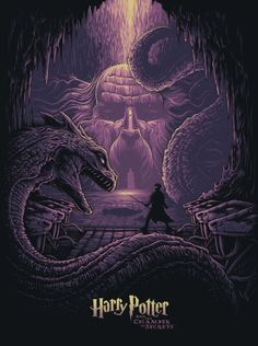 Buy Harry Potter & The Eyes of the Basilisk - Art Print online and save! Witness the climactic showdown from Harry Potter and the Chamber of Secrets when the courageous young wizard battles the evil basilisk. The Harry Pot. Harry Potter Fan Art, Harry Potter Poster, Mundo Harry Potter, Harry Potter Universal, Harry Potter World, Slytherin, Hogwarts, Dan Mumford, Wallpaper Harry Potter