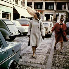 Princess Grace shopping in Monaco, 1968.