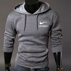 """Click to see """"Swoosh Logo Men's Hooded Sweatshirt"""" on Aliexpress. Please leave a comment if the button has broken link. Broken Link, Men's Clothing, Hooded Sweatshirts, Hoods, Button, Logo, Sweaters, Clothes, Fashion"""