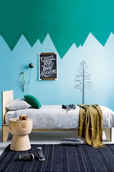 Kids' bedroom walls: 6 fun decorating ideas. Styling by Jessica Hanson. Photography by Amanda Prior.