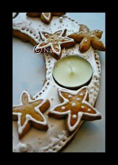 Xmas gingerbread wreath