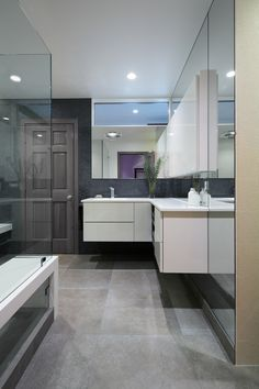 Guest Bathroom in Our Client's Modern Home in Southern California - Architecture / Interior Design